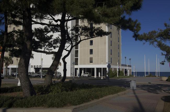 Ocean Front Condo Building